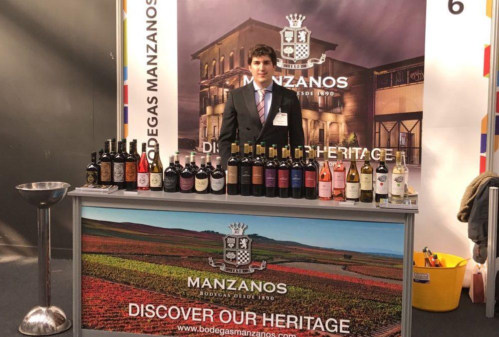 Exitosa participación de Manzanos Wines en Wines From Spain 2017