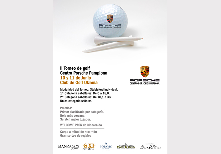 II Torneo de Golf Centro Porsche Pamplona